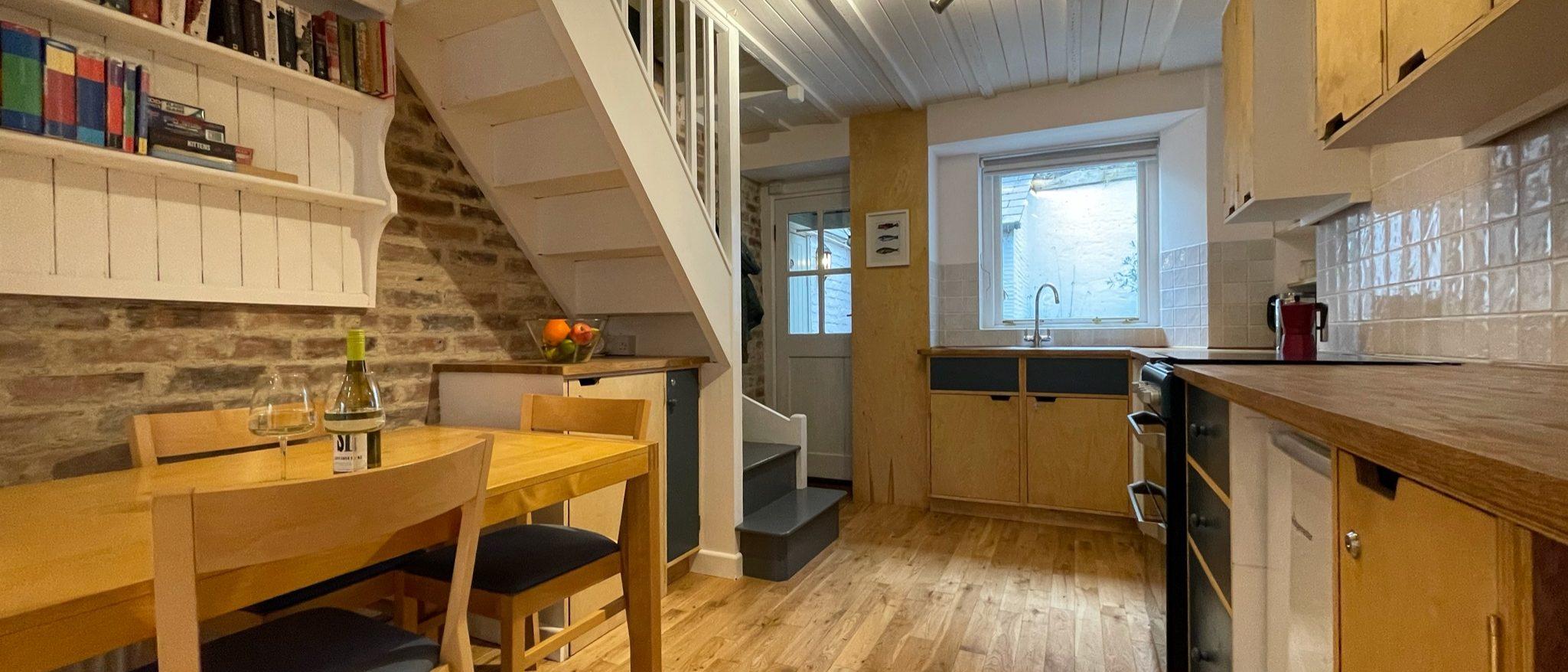 Looe View Cottage Kitchen